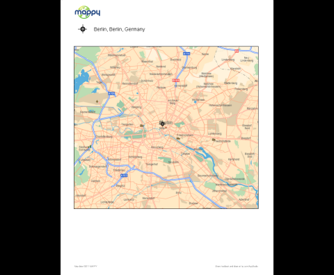 Mappy for HP ePrinter (Map)