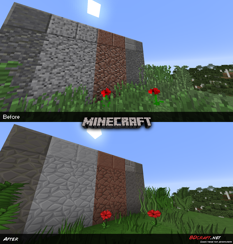 Minecraft Stones Default / PureBDcraft