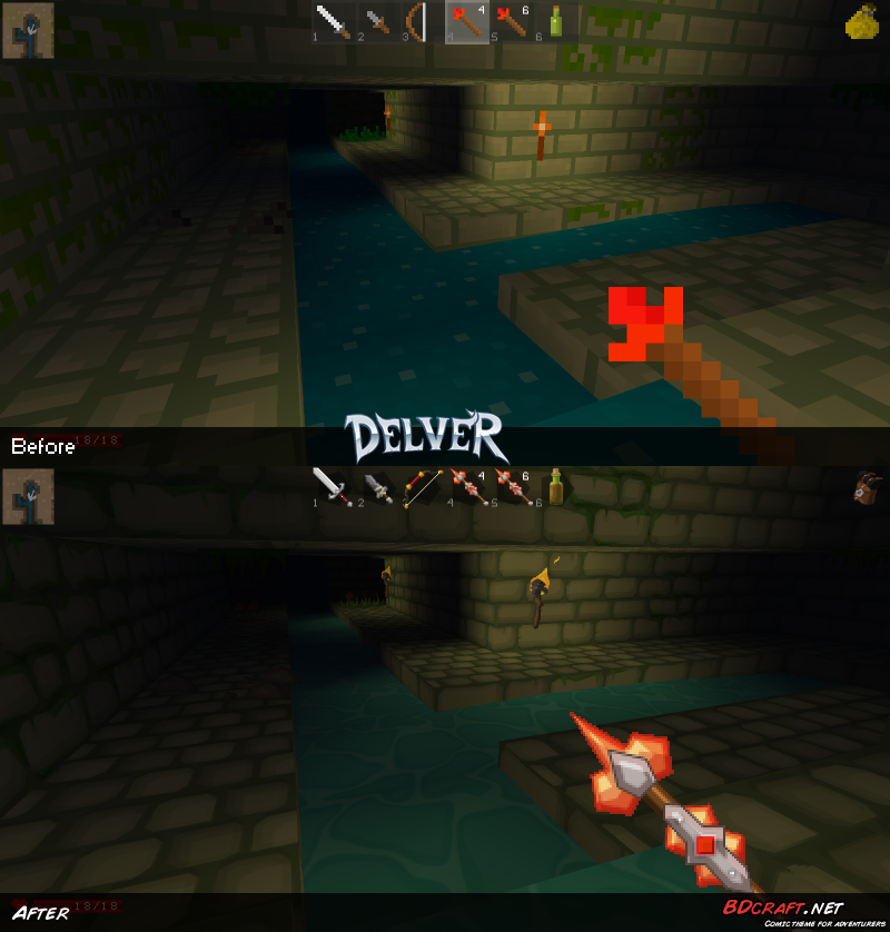 Delver Sewers Default / PureBDcraft
