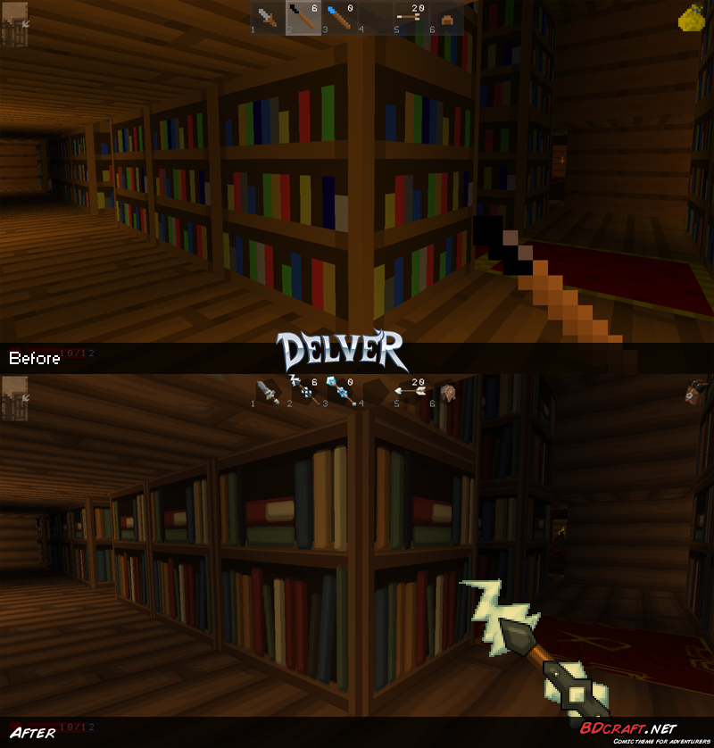 Delver Library Default / PureBDcraft